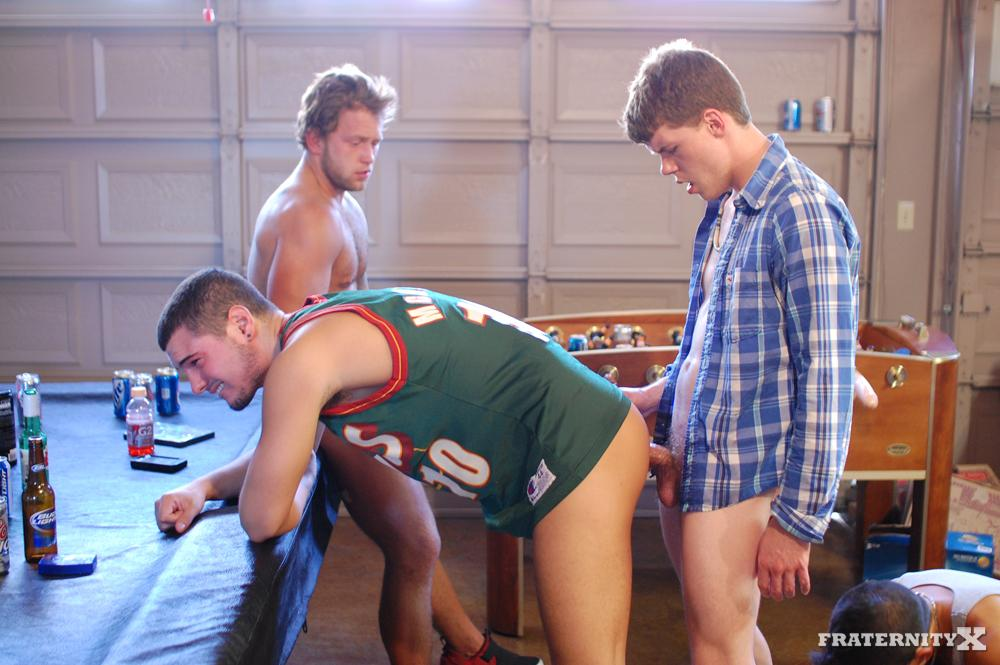 Fraternity-X-Straight-Frat-Boys-Barebacking-Amateur-Gay-Porn-10 Real Amateur Drunk Fraternity Brothers Take Turns Barebacking