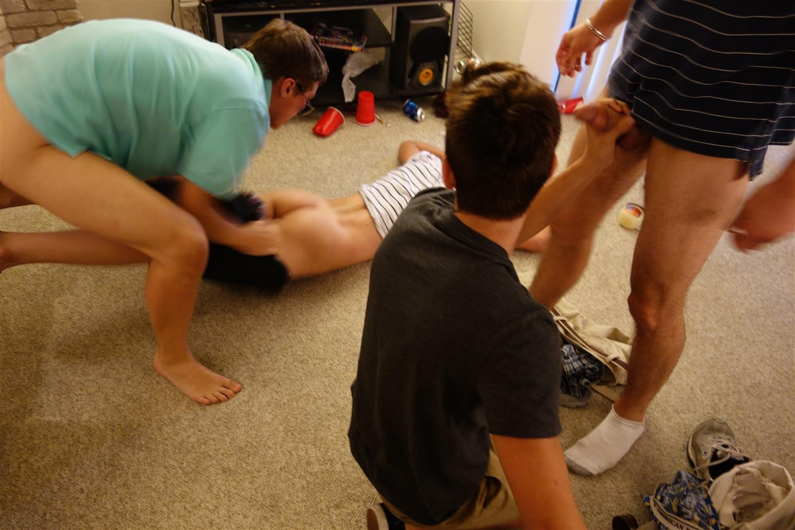 Fraternity-X-Drunk-Frat-Pledge-Gets-Barebacked-While-Passed-Out-Amateur-Gay-Porn-35 Drunk And Passed Out Frat Pledge Gets Fucked Bareback