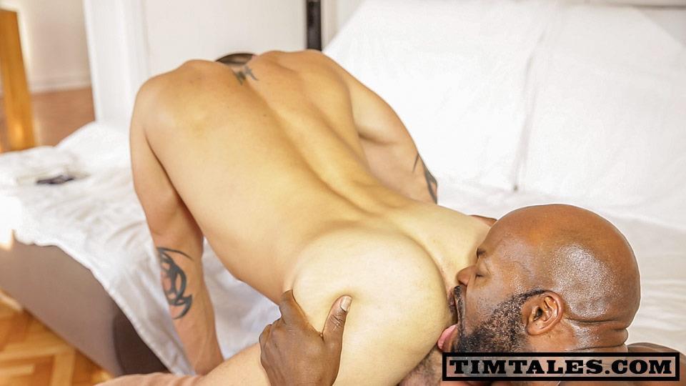 TimTales Cutler X and David Avila Interracial Big Black Cock Fucking White Ass Amateur Gay Porn 02 TimTales: CutlerX and David Avila   Big Black Cock Fucking A Tight Muscle Ass