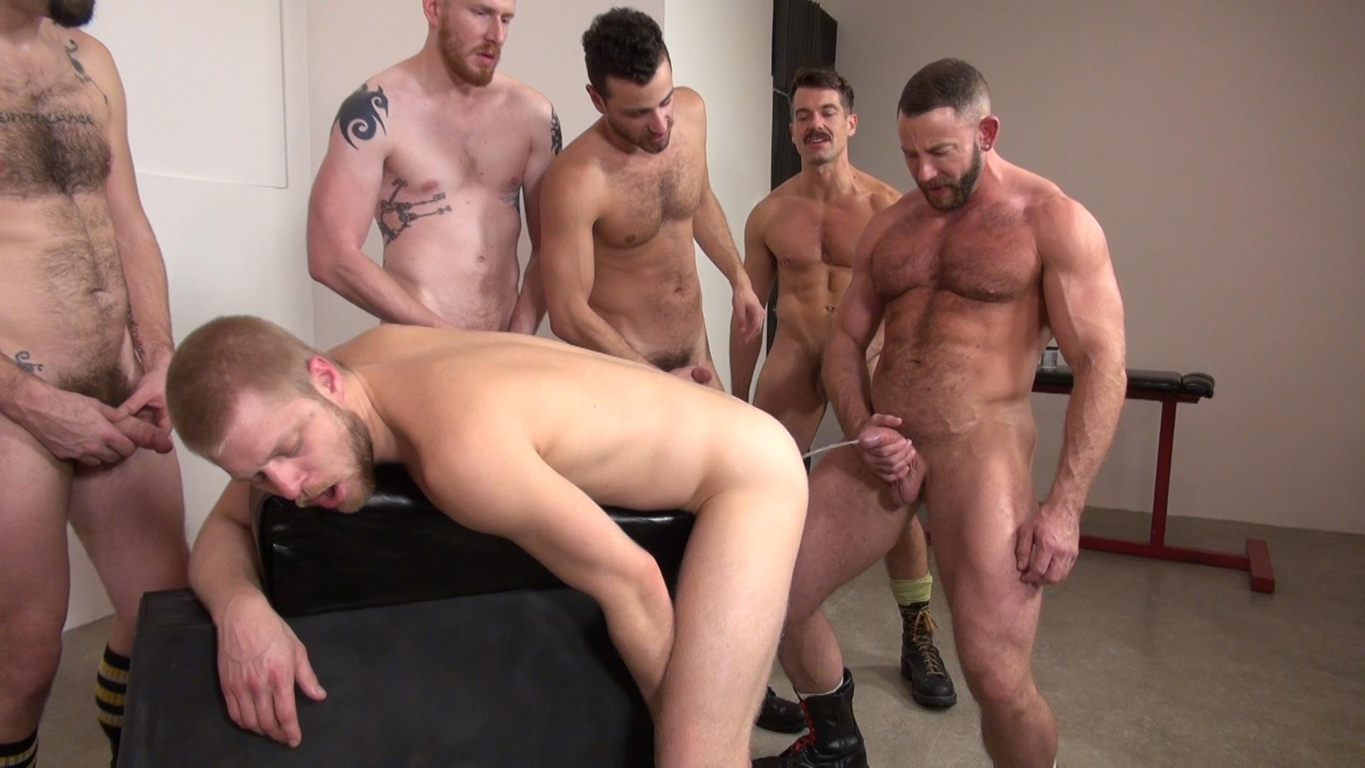 Raw and Rough Bareback Gay Sex Orgy Amateur Gay Porn 03 Six Hairy Hung Guys Pounding A Bottom At A Bareback Sex Party