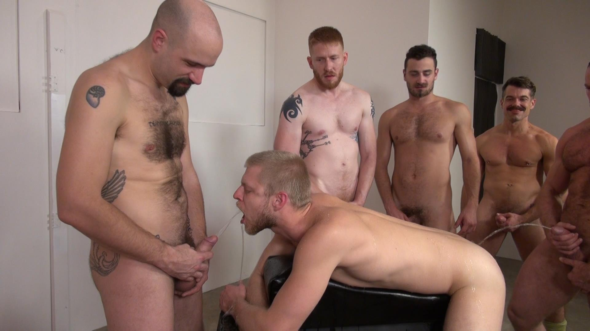 Raw and Rough Bareback Gay Sex Orgy Amateur Gay Porn 08 Six Hairy Hung Guys Pounding A Bottom At A Bareback Sex Party