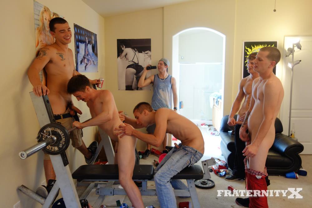 Fraternity X Matt Frat Guys Line up to Bareback A freshman ass BBBH Amateur Gay Porn 25 Real Fraternity Guys Line Up To Bareback A Freshman Ass