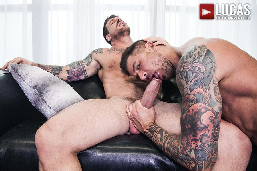 Lucas-Entertainment-Rocco-Steele-and-Dolf-Dietrich-Big-Cock-Barback-Muscle-Hunks-Amateur-Gay-Porn-05 Rocco Steele Breeding Dolf Dietrich With His Massive Cock