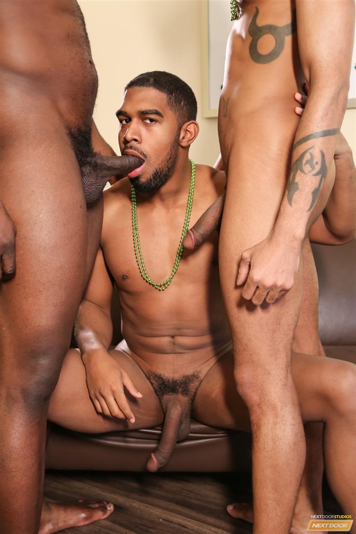 Next Door Ebony Nubius and Jin Powers and XL Naked Thugs Threeway Fucking Amateur Gay Porn 07 Big Black Cock Threeway Suck and Fuck Thug Fest
