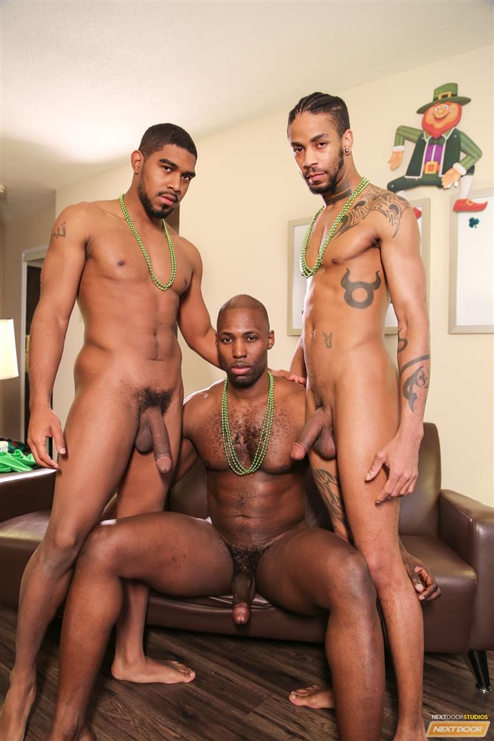 Next Door Ebony Nubius and Jin Powers and XL Naked Thugs Threeway Fucking Amateur Gay Porn 09 Big Black Cock Threeway Suck and Fuck Thug Fest