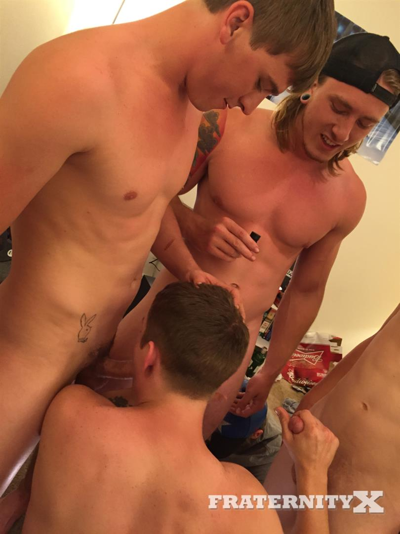 Fraternity-X-Drunk-Frat-Guys-Barebacking-A-Freshman-Ass-Amateur-Gay-Porn-07 College Freshman Gets Gang Barebacked By Horny Frat Guys