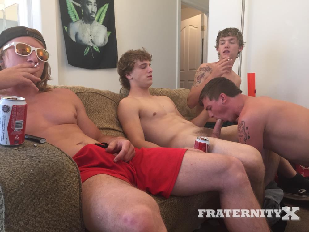 Fraternity-X-College-Frat-Guys-Naked-and-Fucking-Bareback-Amateur-Gay-Porn-22 Drunk Frat Guys Getting Stoned and Barebacking A Freshman Pledge