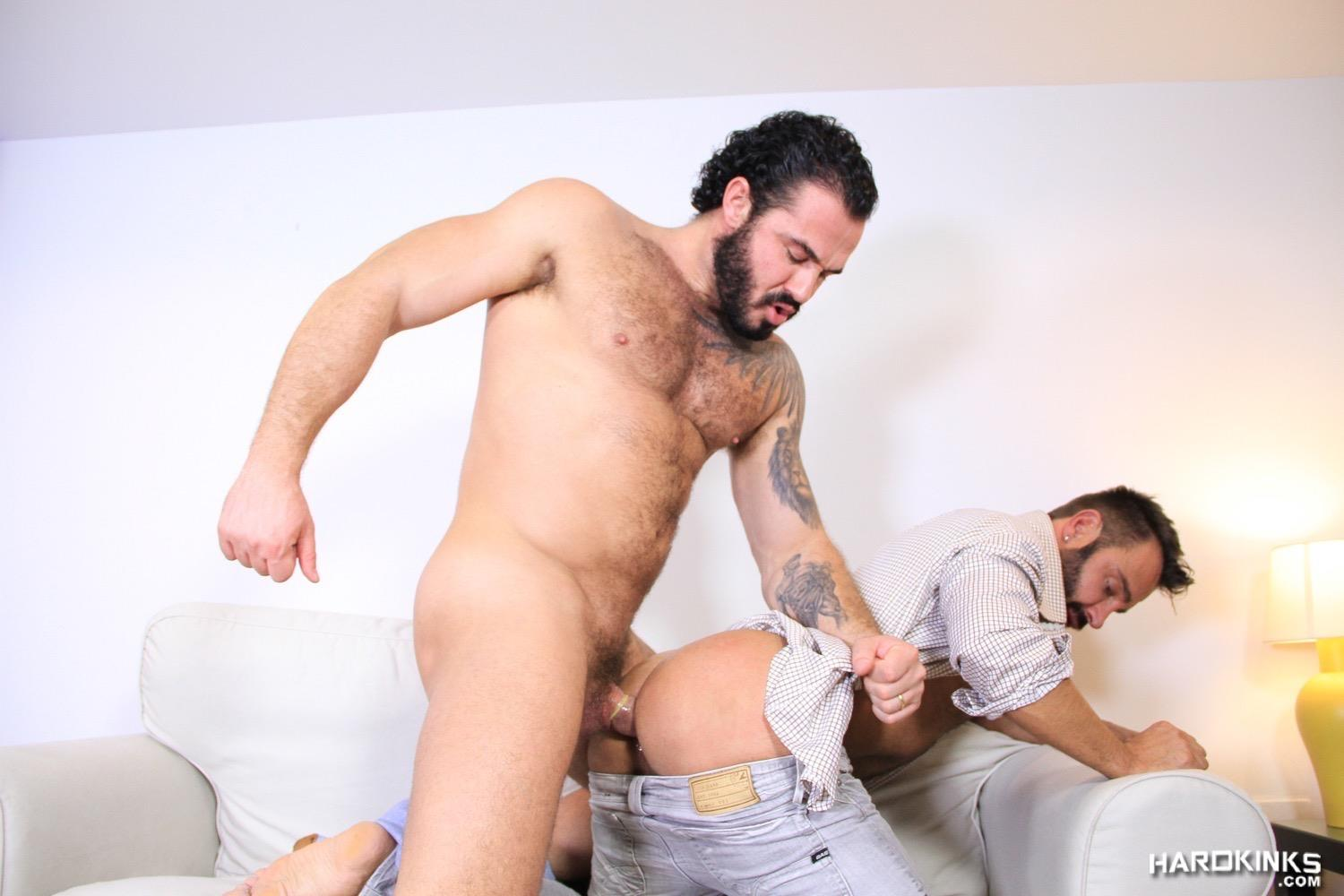 Hardkinks Jessy Ares and Martin Mazza Hairy Alpha Male Amateur Gay Porn 41 Hairy Muscle Alpha Male Dominates His Coworker