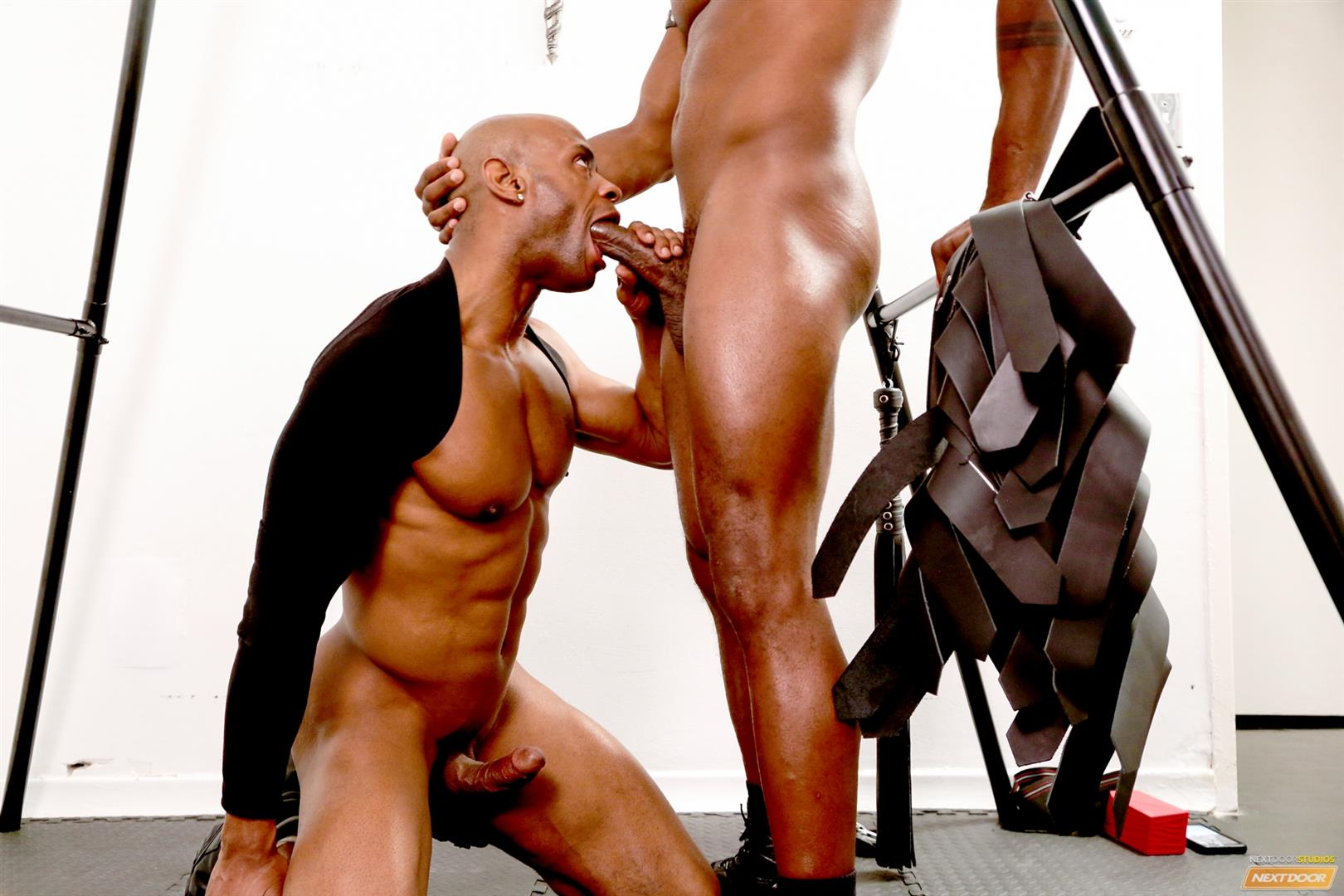 Marlone-Starr-and-Osiris-Blade-Next-Door-Ebony-Big-Black-Cocks-Fucking-Amateur-Gay-Porn-12 Osiris Blade Takes Marlone Starr's Massive Horse Cock Up The Ass