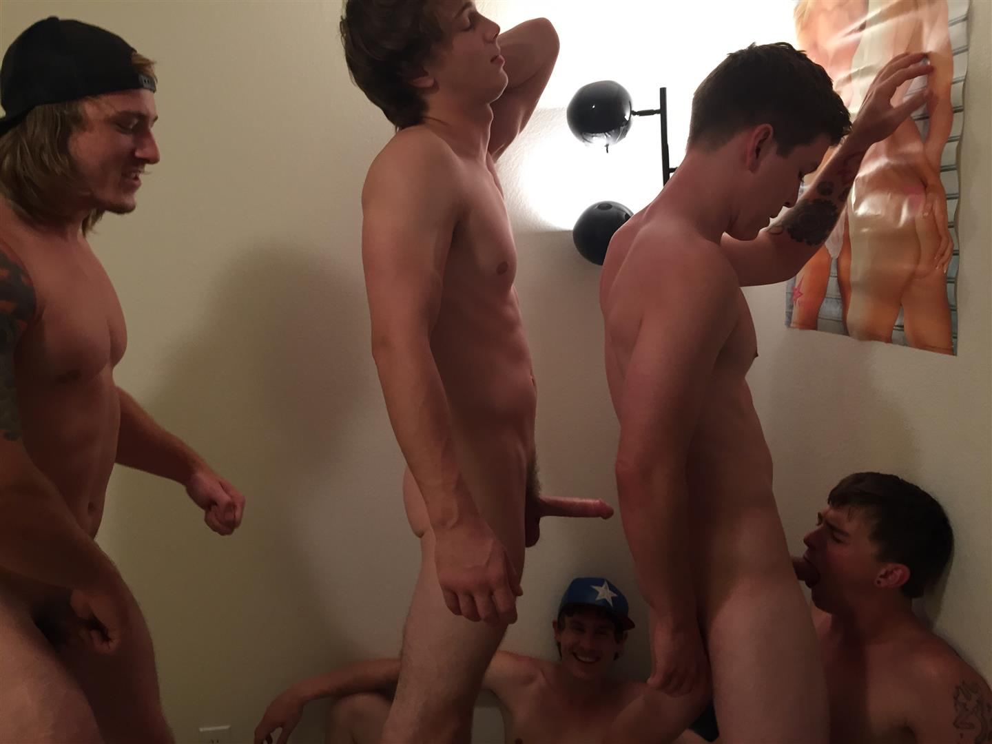 Fraternity-X-Naked-Frat-Boys-Barebacking-Freshman-Ass-Amateur-Gay-Porn-16 Fraternity Boys Take Turns Barebacking A Scared Freshman Ass