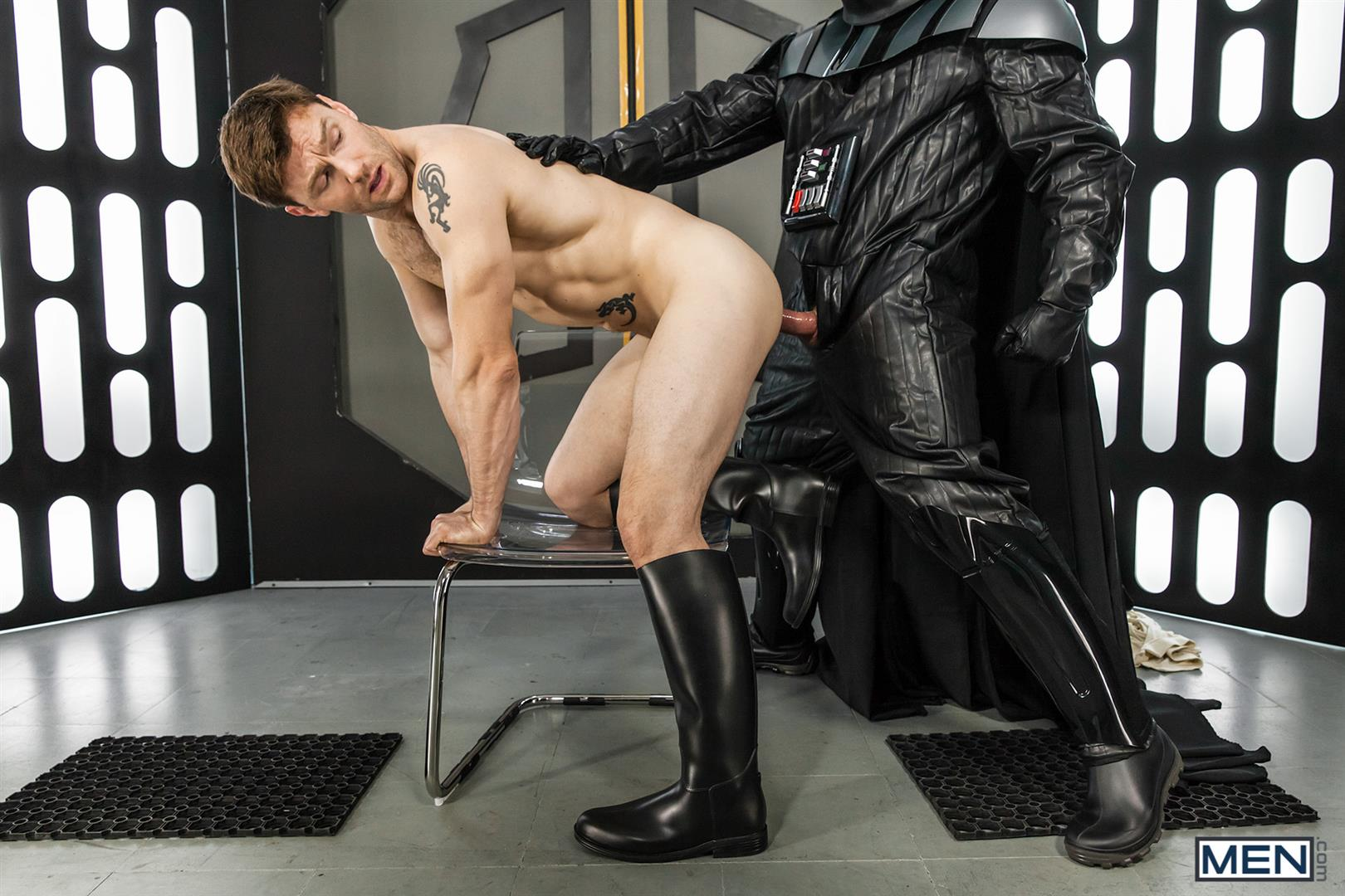 Men Dennis West Gay Star Wars Parody XXX Amateur Gay Porn 41 Who Knew that Darth Vader Likes To Fuck Man Ass?