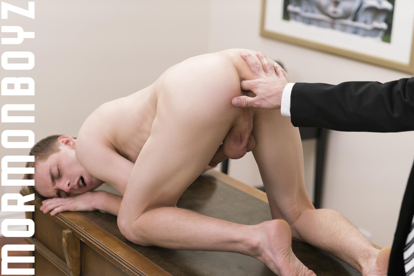 Mormon-Boyz-Elder-Dalton-and-Bishop-Hart-Bareback-Twink-By-Older-Man-08 Big Dick Mormon Twink Takes A Thick Bareback Cock